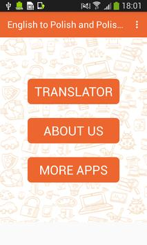 English to Polish and Polish to English Translator screenshot 2
