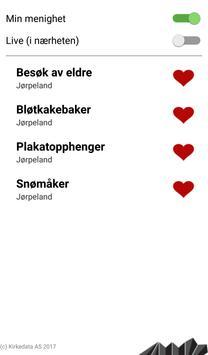 MinMenighetsportal screenshot 2