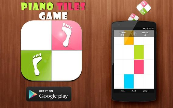 Piano Tiles Colors poster
