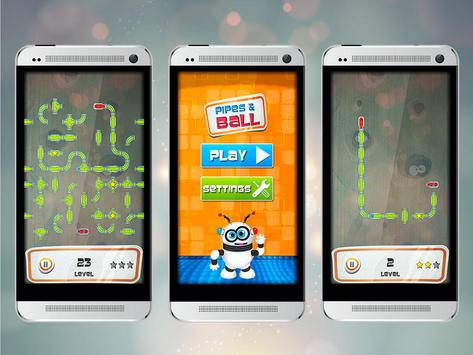 Plumber Puzzle Pipes and Ball apk screenshot