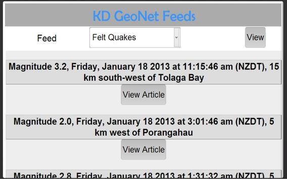 KD Geo Net Free apk screenshot