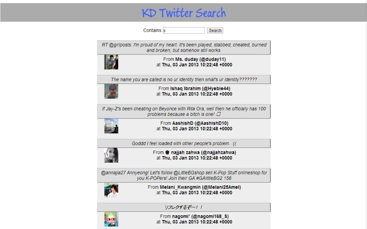 KD Twitter Search for Android   APK Download