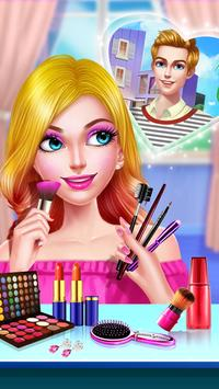 School Date Makeup - Girl Dress Up poster