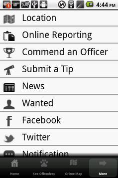 Cheyenne Police Department apk screenshot