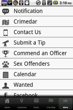 Troy Police Department screenshot 1