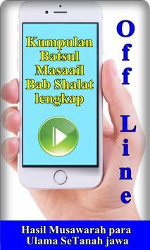 Kitab Batsul Masail Bab seputar Shalat screenshot 2