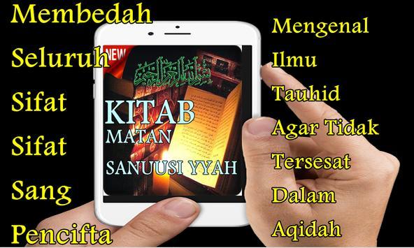 Kitab Ilmu Tauhid Matan Sanusiyyah Terjemah poster