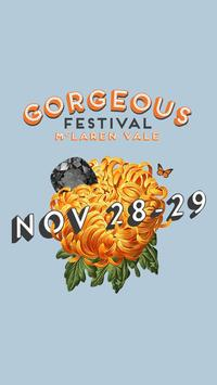 Gorgeous Festival poster