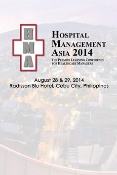 Hospital Management Asia 2014 poster