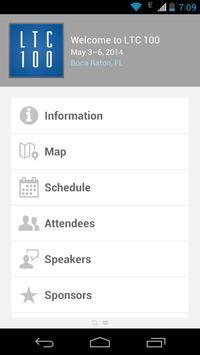 LTC 100 2014 Conference App poster