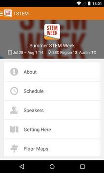 Summer Stem Week poster