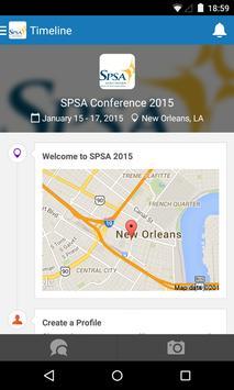 SPSA 2015 Program Guide poster
