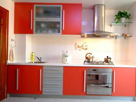 Kitchen Cabinet Design Ideas screenshot 1