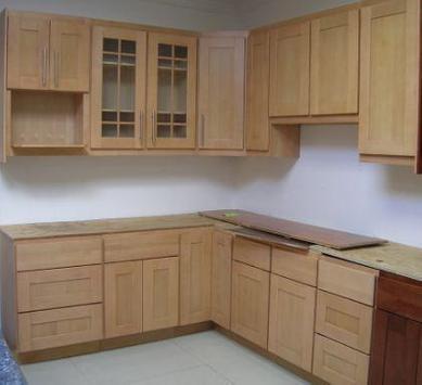 kitchen cabinet designs screenshot 3