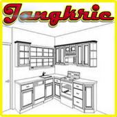 Kitchen Cabinets Idea icon