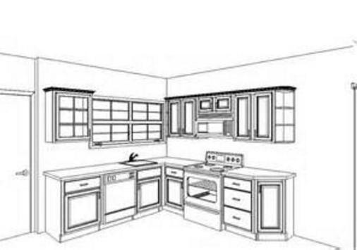 Kitchen Cabinets Idea screenshot 1