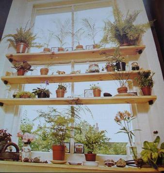 Kitchen Plant Shelves poster