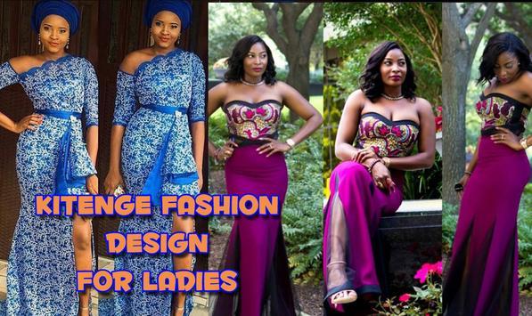 Kitenge Fashion Short Dresses poster