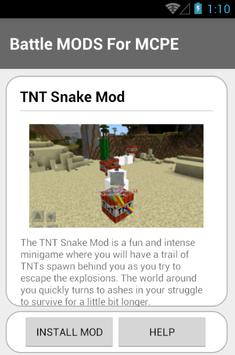 Battle MODS For MCPE screenshot 9