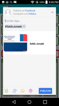 Saldo Junaeb screenshot 3
