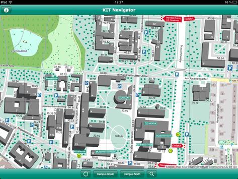 KIT-Navigator screenshot 1