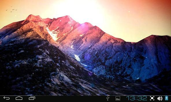 3D Kitkat 4.4 Mountain lwp apk screenshot