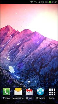 3D Kitkat 4.4 Mountain lwp poster