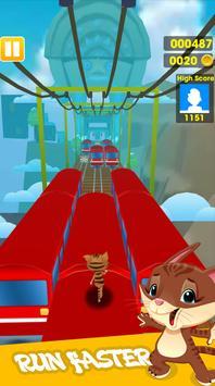 Subway Angel run Game apk screenshot