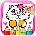 Kitty Coloring Book & Drawing Game APK