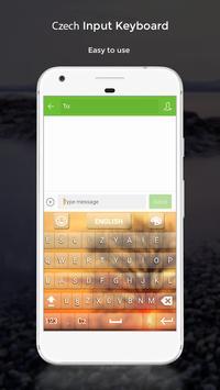 Czech Input Keyboard apk screenshot