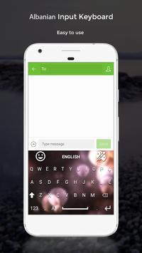Albanian Input Keyboard apk screenshot