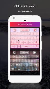 Batak Input Keyboard poster