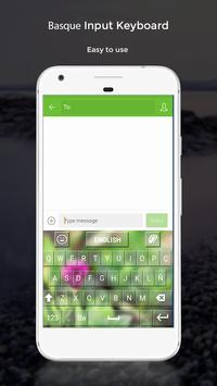 Basque Input Keyboard apk screenshot