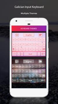 Galician Input Keyboard apk screenshot