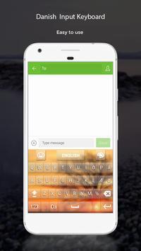 Danish Input Keyboard apk screenshot