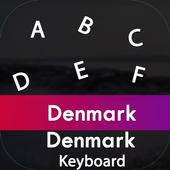 Denmark Input Keyboard icon