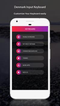 Denmark Input Keyboard apk screenshot