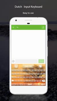 Dutch Input Keyboard apk screenshot