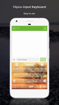 Filipino Input Keyboard apk screenshot