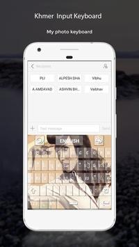 Khmer Input Keyboard apk screenshot