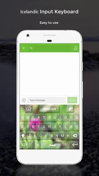 Icelandic Input Keyboard apk screenshot