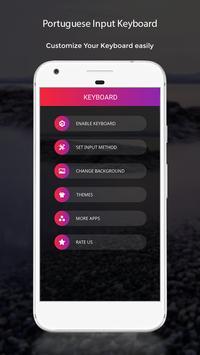 Portuguese Input Keyboard apk screenshot