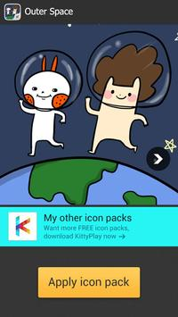 Icon pack -  Outer Space(FREE) screenshot 4