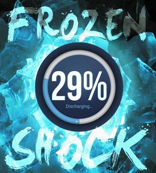 Frozen Shock for Zooper Widget poster