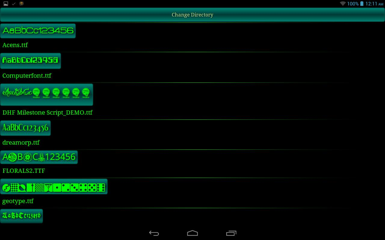 Full Font File Viewer for Android - APK Download