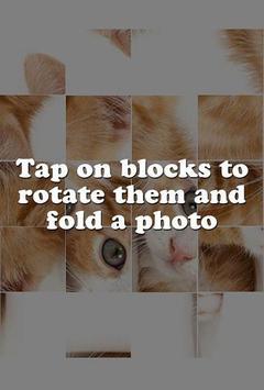 Kitten Puzzle Game apk screenshot
