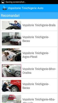 Vopsitorie Tinichigerie Auto screenshot 2