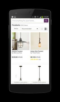 Online Home Store Wayfair apk screenshot