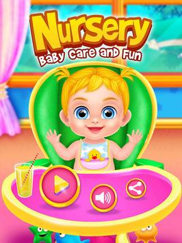 Nursery Baby Care and Fun poster