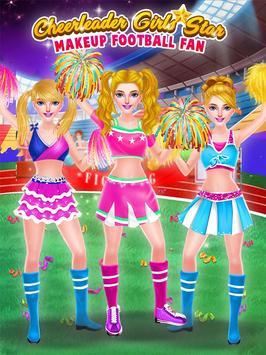Cheerleader Girls Star - Be a Football Fan screenshot 3